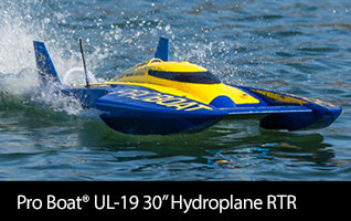 Pro Boat UL-19 30-inch Brushless Hydroplane RTR