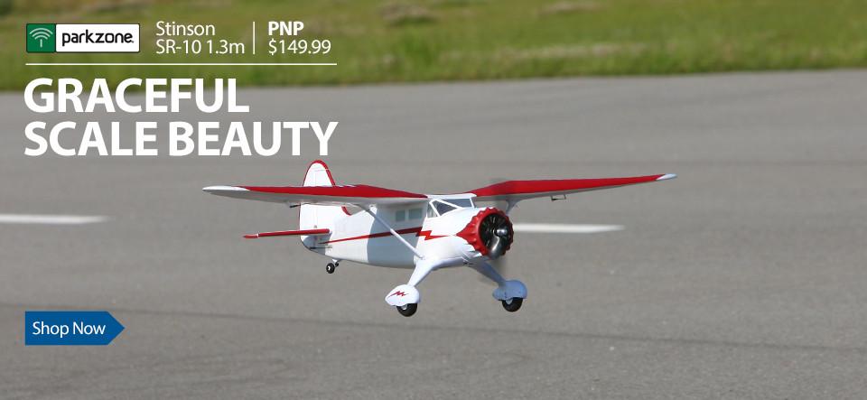 ParkZone Stinson Reliant SR-10 1.3m PNP RC Aircraft