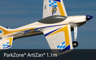 ParkZone ArtiZan 1.1m PNP Sport Aerobatic RC Airplane
