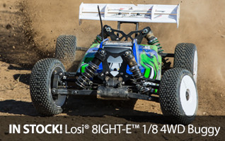 Losi 8IGHT-E RTR 4WD 1/8 scale Buggy