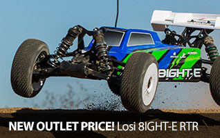 Losi 8IGHT-E RTR 1-8 scale buggy Off Road 4WD Brushless Ready to run