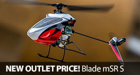 Save Blade mSR S Helicopter Heli Outlet Price Cut Sale