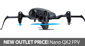 Save on Blade Nano QX2 FPV BNF Basic