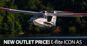 Save on the E-flight ICON A5 Amphibius Water