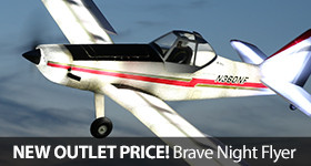 Brave Night Flyer Outlet Saving LED