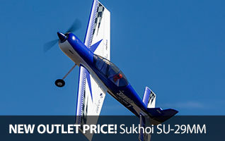 Save $30 on the E-flite Sukhoi SU-29MM 1.1m BNF Basic Aerobatic RC Airplane