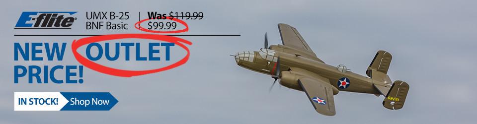 Eflite UMX B-25 Bomber RC Airplane