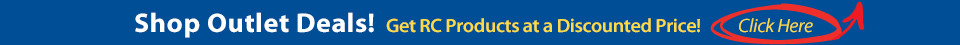 Shop Outlet Deals - Get RC Products at a Discounted Price. Click the