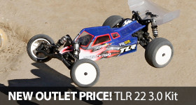 Save Off TLR Team Losi Racing 22 3.0 Race Buggy Kit