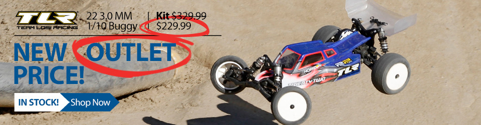 Team losi Racing 1/10 22 3.0 MM 2WD RC Buggy Race Kit