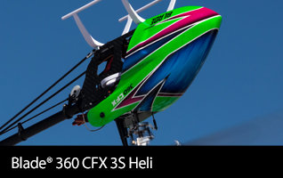 Blade 360 CFX 3S BNF Basic 3D Aerobatic High-performance Flybarless RC Helicopter