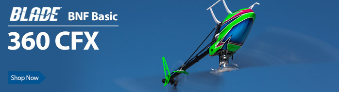 Blade 360 CFX BNF Basic Flybarless 3D Aerobatic RC Helicopter