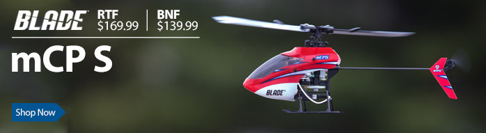 Blade mCP S Ultra Micro Flybarless Aerobatic RC Helicopter with SAFE Technology