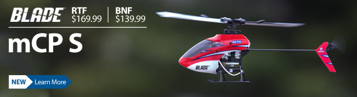 BLADE mCP S Micro 3D Aerobatic RC Helicopter BLH5100
