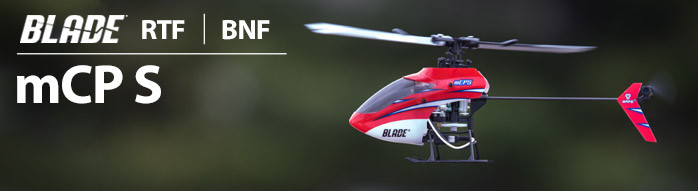 Blade mCP S Ultra Micro Aerobatic Indoor RC Helicopter