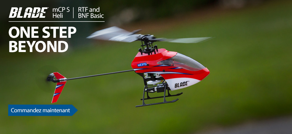 Blade mCP S Micro 3D Aerobatic RC Helicopter