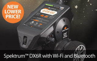 Spektrum DX6R Android Powered Radio Transmitter Raceware 2.0