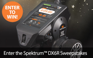 Enter to win a Spektrum DX6R Android Powered DSMR