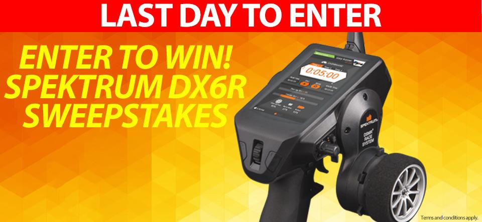 Horizon Hobby RC Sweepstakes! Win a Spektrum DX6R!