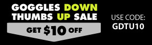 Goggles Down Thumbs Up FPV Sale - Save up to $30 on Blade and Spektrum FPV Drones, Wings, and Accessories with promo code GDTU10, GDTU20, or GDTU30