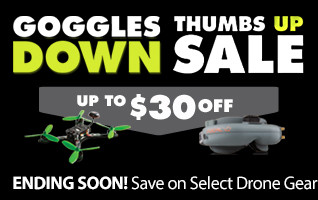 Goggles Down THumbs Up Drone Sale FPV Race Headset