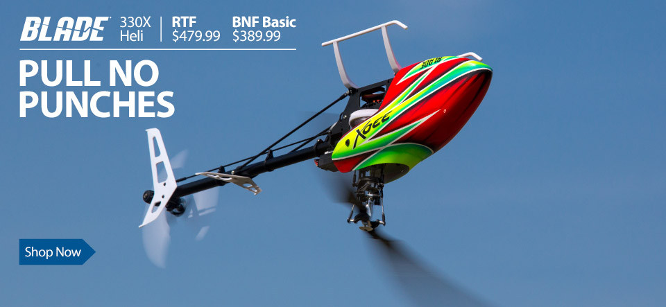 Blade 330X 3D Aerobatic RC Helicopter