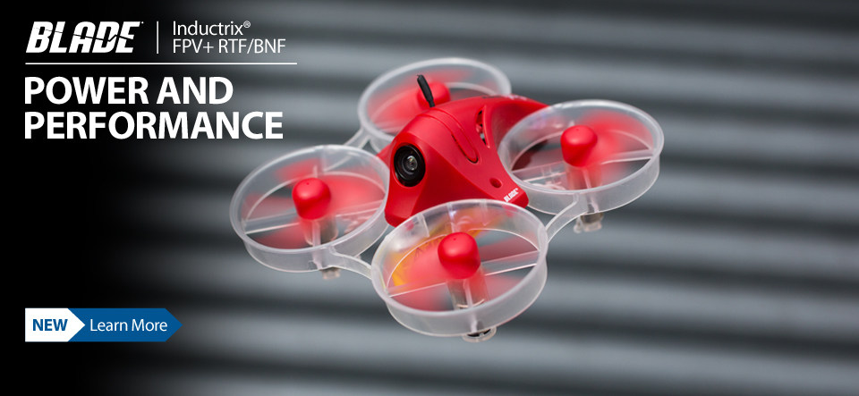 Blade Inductrix FPV Plus Micro FPV Race RC Quadcopter