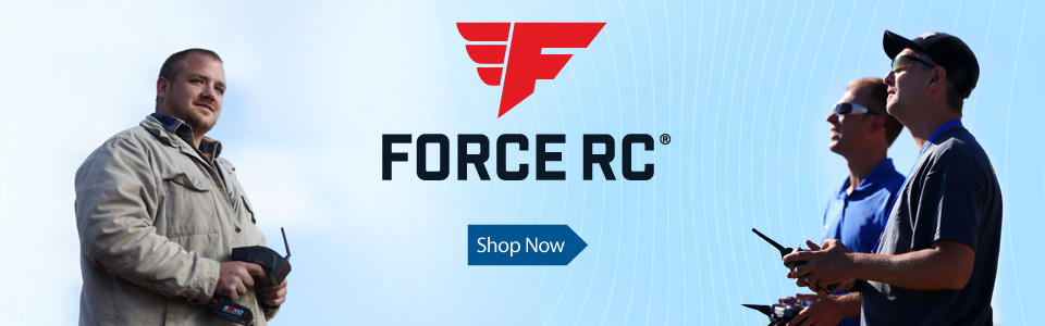 Force RC Airplanes, Parts and Accessories - A Horizon Hobby Outlet Exclusive Brand