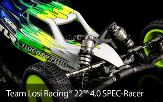 TLR Team Losi Racing 22 4.0 Spec Racer SR Off Road 2WD Buggy