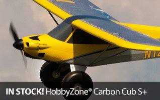 HobbyZone Carbon Cub S plus RC Airplane