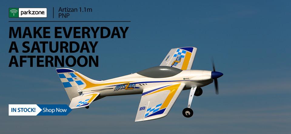 ParkZone Artizan 1.1m PNP RC Aircraft