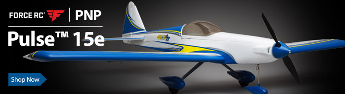 Force RC Pulse 15e 1.4m PNP Sport RC Airplane