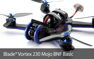 Blade Vortex 230 Mojo BNF Basic FPV Race Drone