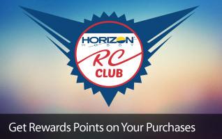 Get rewards points on your purchases Horizon RC Club