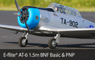 E-flite AT-6 1.5m WWII Warbird RC Airplane