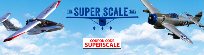 Save up to $25 on select scale RC aircraft