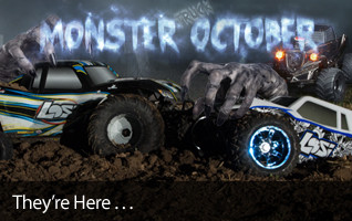 Monster October Truck MT MTXL LST 3XL Barrage