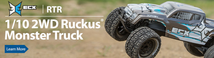 ECX Ruckus 2WD Monster Truck MT RTR Ready to run