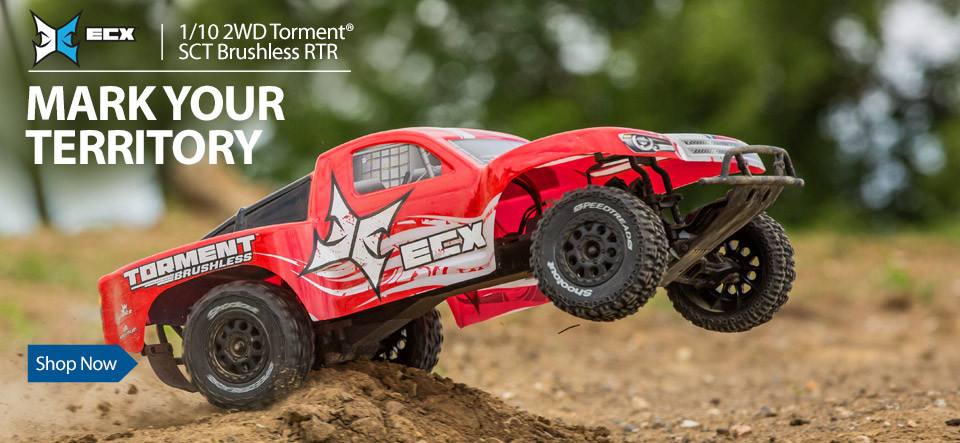 ECX 1/10 2WD SCT Brushless RC Short Course Truck