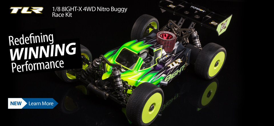TLR 8IGHT-X Race Kit 1/8 4WD Nitro Buggy TLR04007