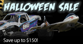 Save Big on RC Planes, Drones, Trucks and more with Horizon Hobby's Halloween Sale!