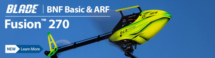 Blade Fusion 270 3D Flybarless RC Helicopter