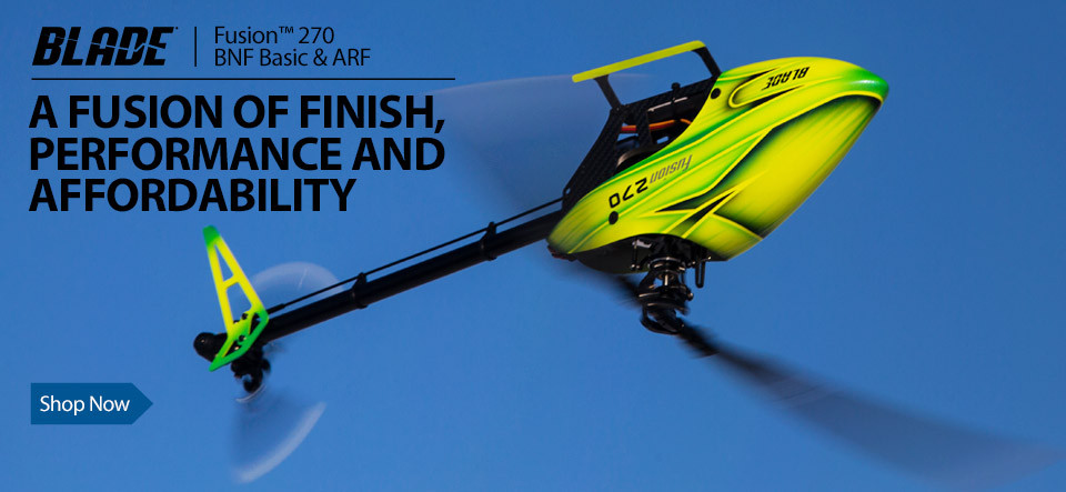 Blade Fusion 270 BNF Basic Helicopter with SAFE Technology