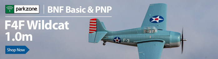 ParkZone F4F Wildcat 1.0m RC Parkflyer Warbird Airplane