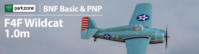 ParkZone F4F Wildcat 1.0m RC Warbird Airplane