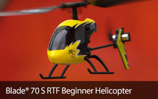 Blade 70 S Ultra Micro Flybarless Beginner RC Helicopter