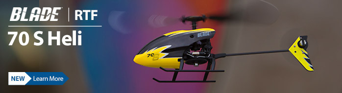New! Blade 70 S Ultra Micro Flybarless Beginner Helicopter