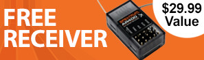 Get a free AR400 receiver with purchase of this transmitter