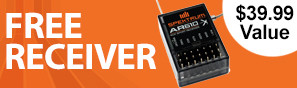Get a free AR610 receiver with purchase of this transmitter
