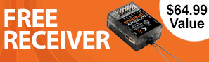 Get a free AR6600T receiver with purchase of this transmitter
